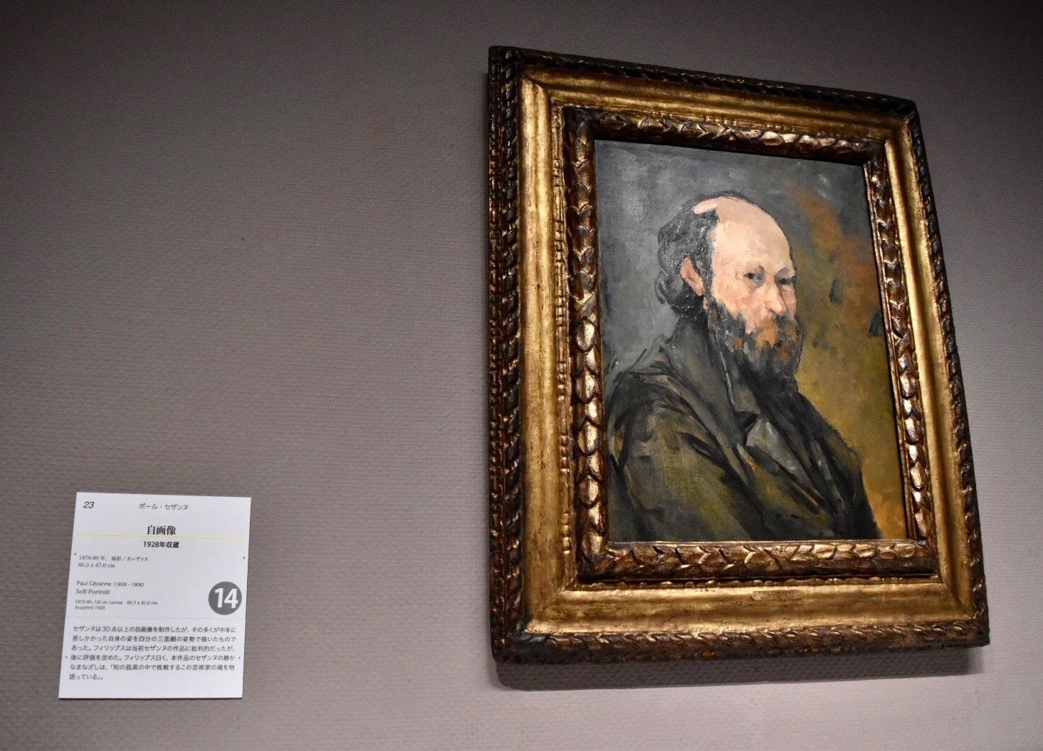 展示風景:ポール・セザンヌ 《自画像》 1878-80年