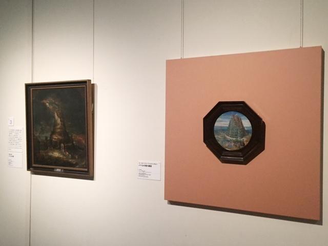 右:ルーカス・ファン・ファルケンボルフによる《バベルの塔の建設》