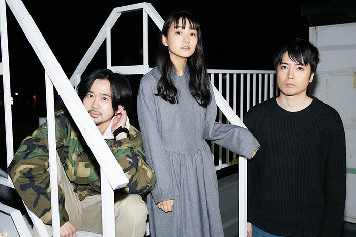 (左から)山科圭太、奈緒、玉田真也