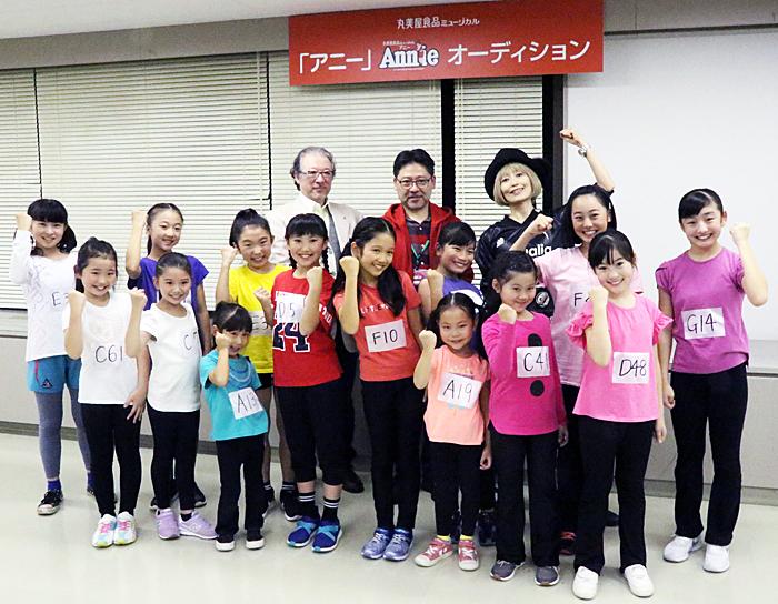 【前列左から】2019年アニーズ 【後列左から】佐橋俊彦、山田和也、広崎うらん