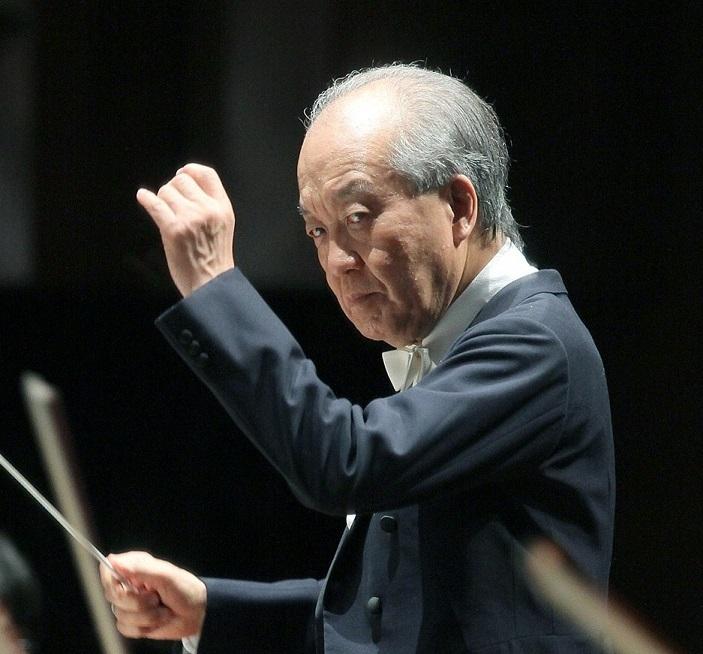 ミュージック・アドバイザー就任2年目を迎える外山雄三 (C)S.Yamamoto