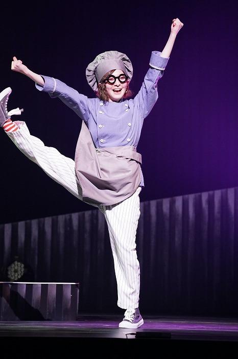 舞台「『Mogut』〜ハリネズミホテルへようこそ〜」ゲネプロの様子  (C)「Mogut」製作委員会/岩田えり
