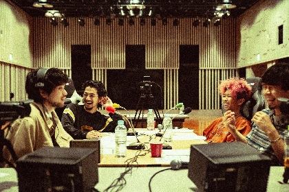 『King Gnu井口理のオールナイトニッポン0』にメンバー全員登場 アコースティックライブでは「白日」「Prayer X」を披露
