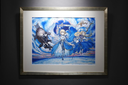 『Fate/Grand Order』のサーヴァントたちを『ファイナルファンタジー』の天野喜孝氏が描き下ろし GWには特別展示会の開催も