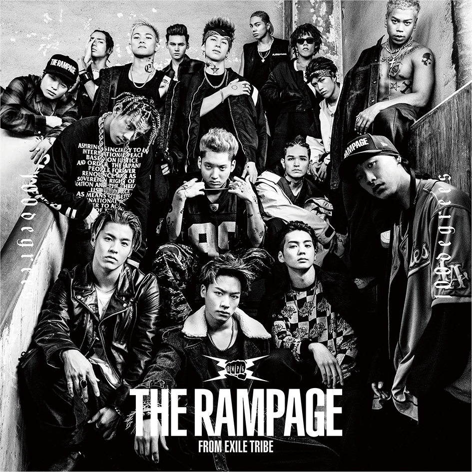 THE RAMPAGE from EXILE TRIBE「100degrees」DVD付