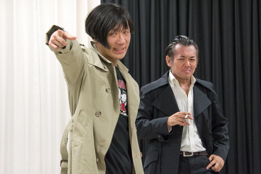 (左から)ゲッツ、江本和広