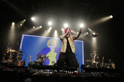 あらき「歌があれば、離れていてもいつだって僕たちは一緒です」 全世界配信ライブ『ARAKI LIVE ARK -syokou no toki- ONLINE』をレポート