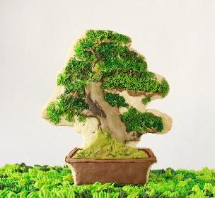 昔ながらの盆栽がアートに、インテリアに、クッキーに! 『#盆栽』、阪急うめだ本店で開催