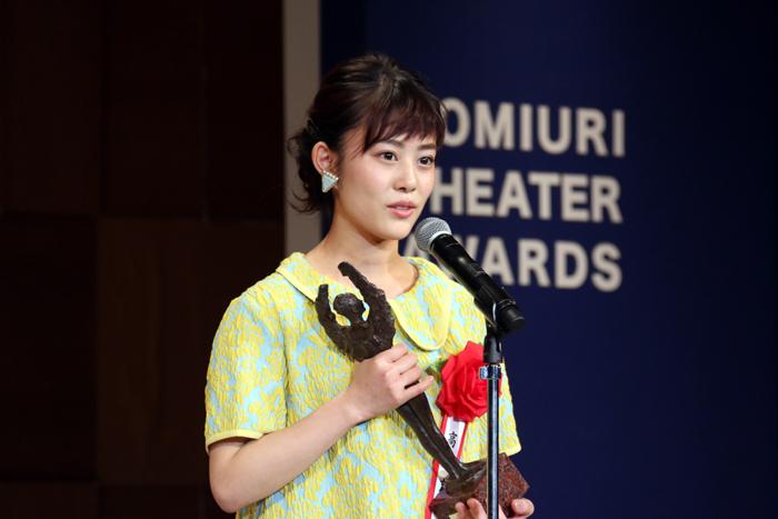 高畑充希 第23回読売演劇大賞贈賞式
