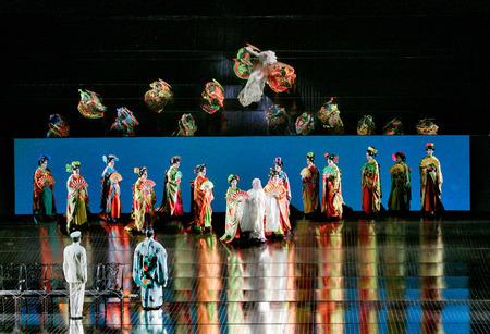 プッチーニ《蝶々夫人》 (C)Ken Howard / Metropolitan Opera