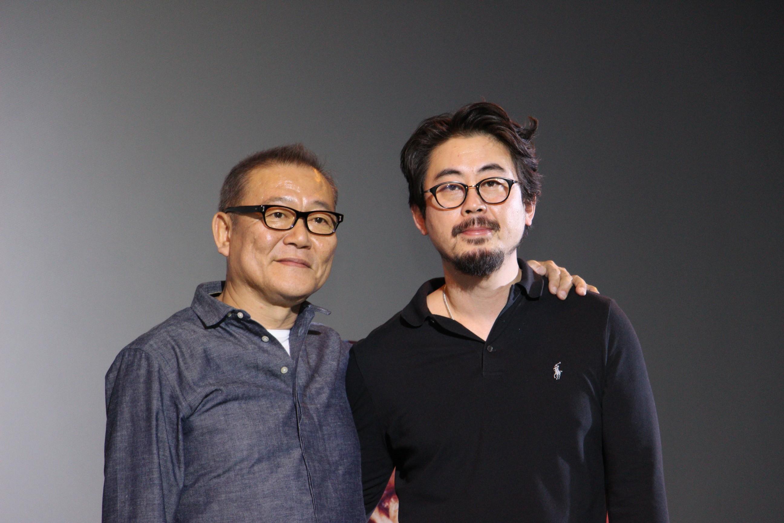 左から、國村隼、ナ・ホンジン監督