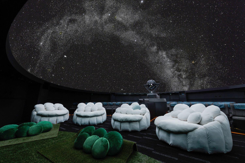 プラネタリウム満天施設写真