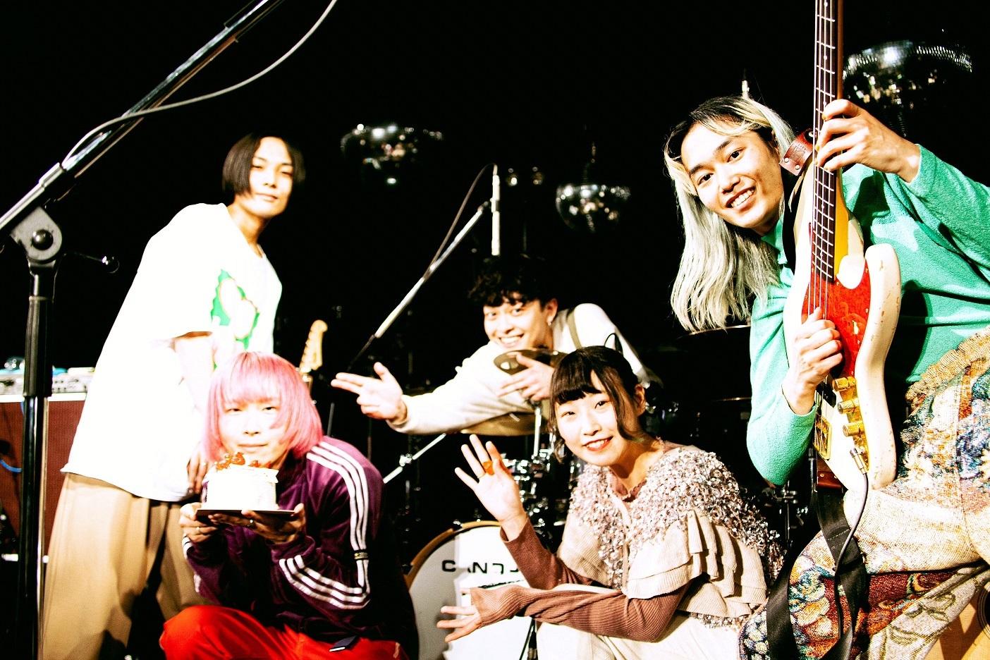 2月25日「体温の確かめ方 TOUR '21」最終公演@渋谷 WWW ライブ写真  Photo by 瀬川 ダイジュ