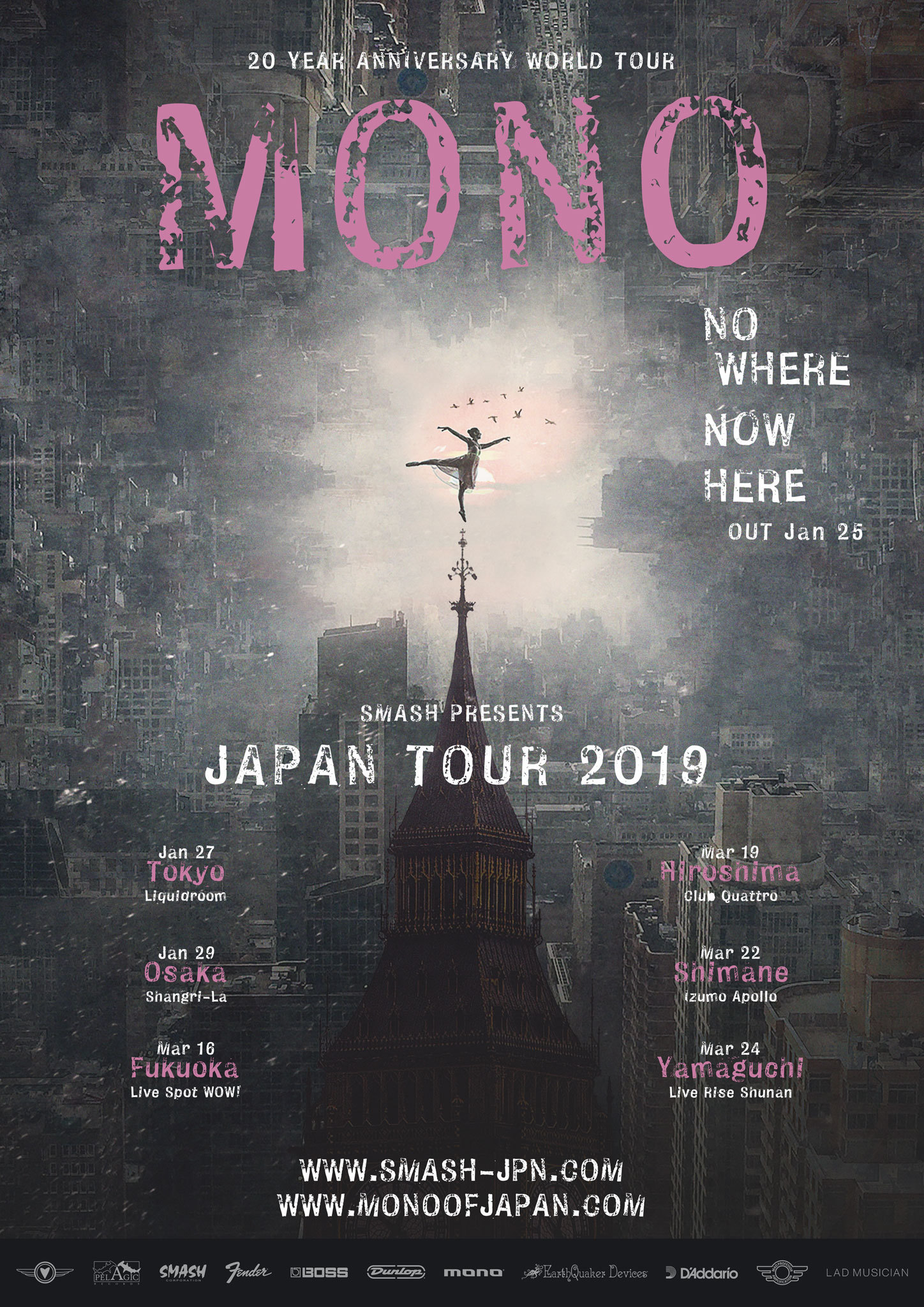 『MONO 20 Year Anniversary Japan Tour 2019』