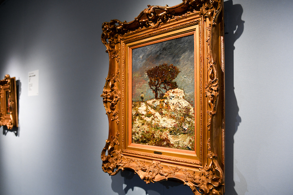 アドルフ・モンティセリ《ガナゴビーの岩の上の樹木》 個人蔵