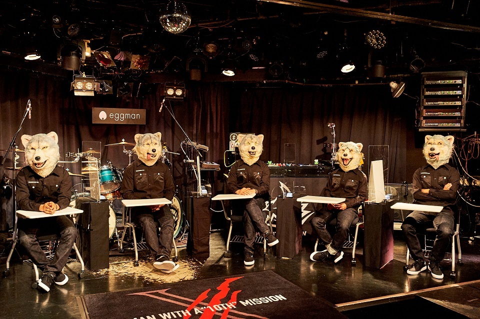 MAN WITH A MISSION  撮影=酒井ダイスケ