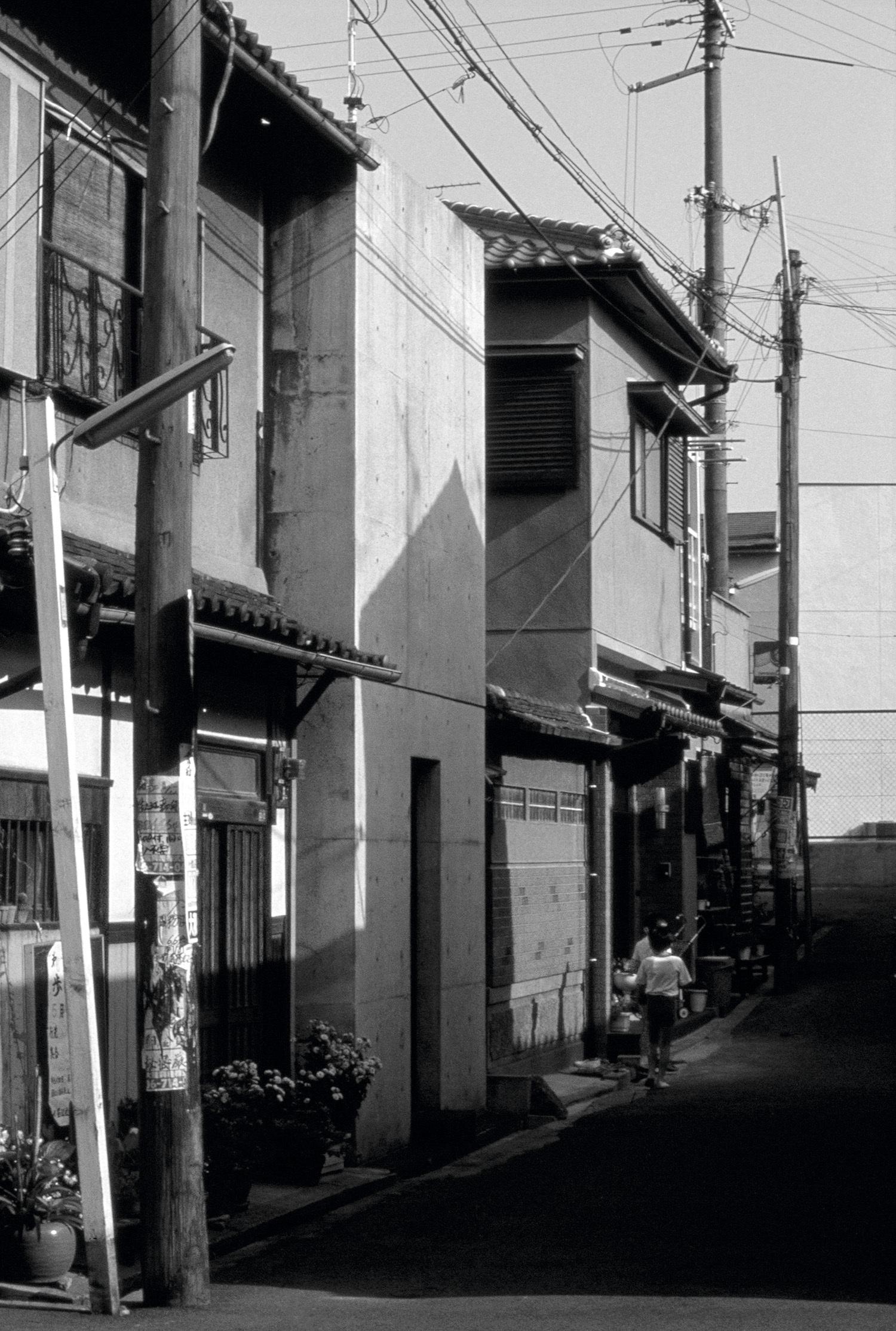 安藤忠雄/住吉の長屋/1976年 撮影:安藤忠雄