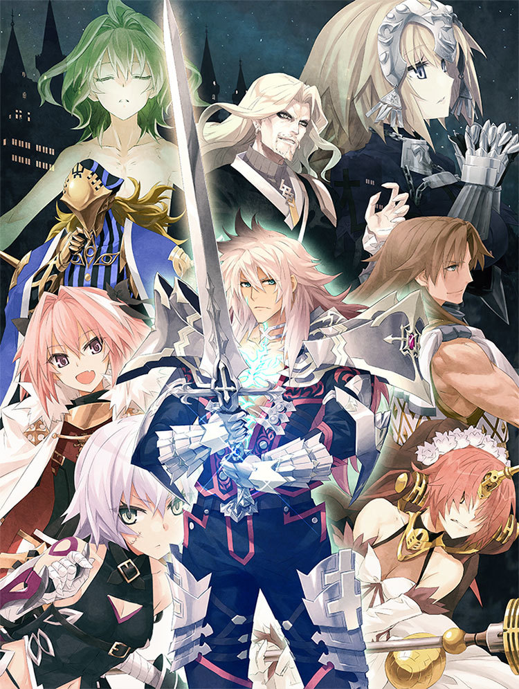 Fate/Apocrypha Blu-ray Disc BoxI (C)東出祐一郎・TYPE-MOON / FAPC