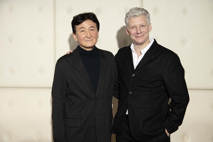 (左)福島成人(右)ウィル・タケット (写真撮影:福岡諒祠)