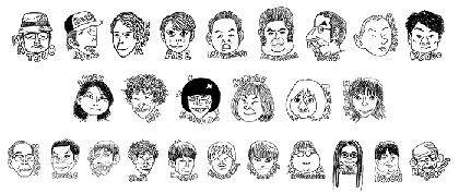 松尾スズキ+大人計画30周年記念イベント「30祭(SANJUSSAI)」イラスト、グッズ、音声ガイドを発表