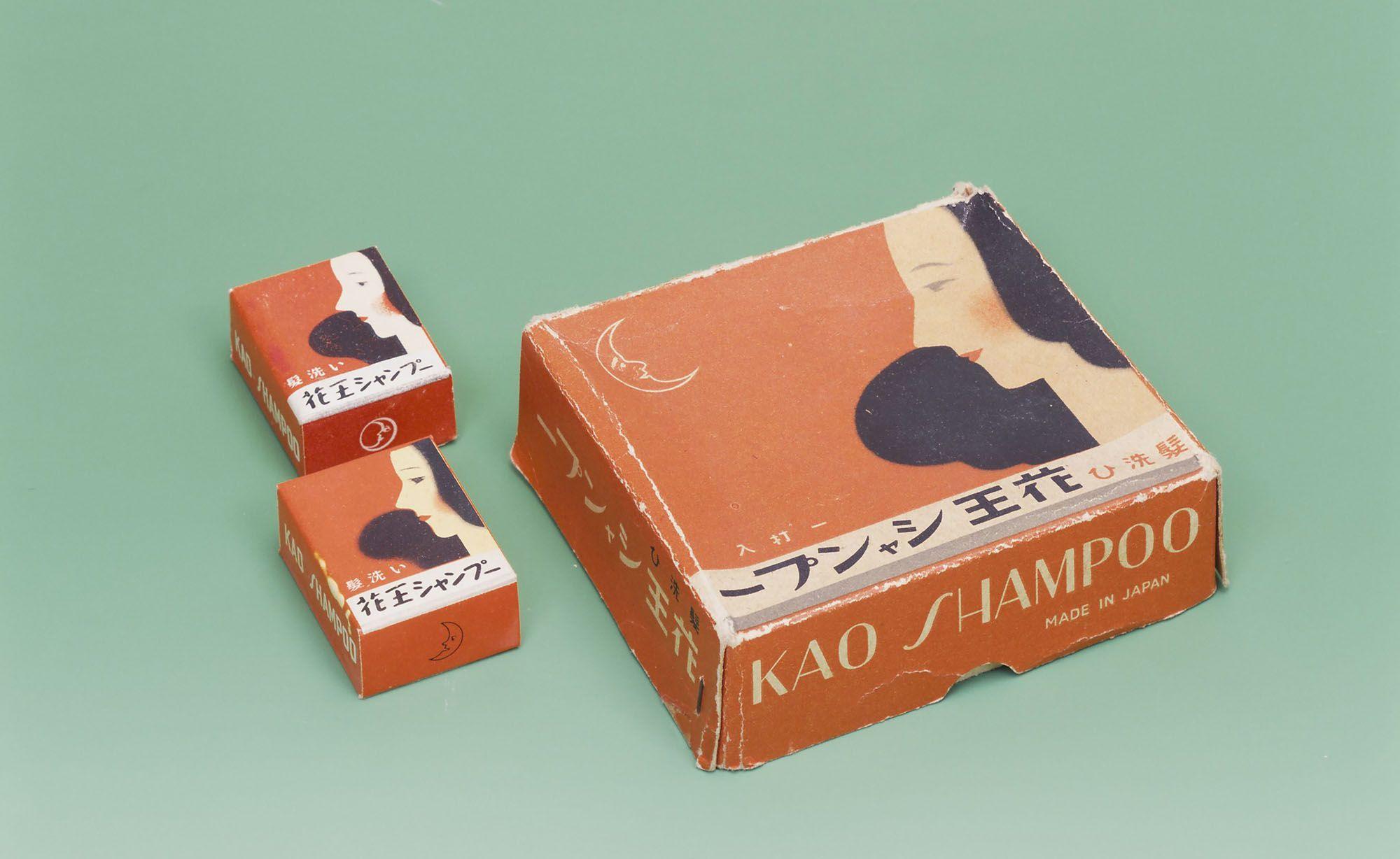 花王シャンプー 1932年発売(花王ミュージアム・資料室提供)
