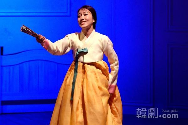 ミュージカル『アリラン』に出演中のソリクン、イ・ソヨン