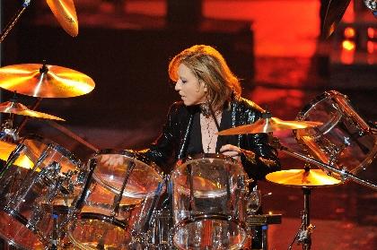 YOSHIKI 紅白のステージで奇跡の復活 「紅」ドラムサプライズ披露で日本中が興奮