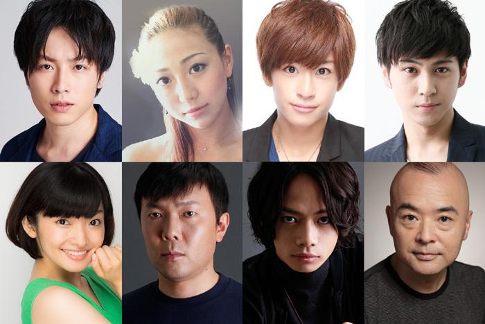 (左上から)鈴木勝吾、透水さらさ、赤澤燈、井澤勇貴、吉田仁美、オラキオ、池田純矢、酒井敏也