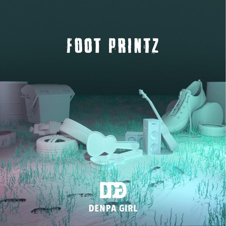 電波少女「FOOT PRINTZ」
