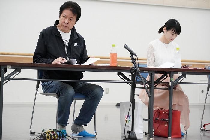 鹿賀丈史、唯月ふうか(『デスノート the Musical』繋がりですね!)