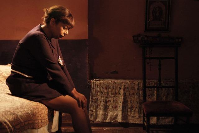 『10月の奇跡』 恋するおばちゃん・ソフィアを演じたガブリエラ・ベラスケス (C)Maretazo Cine