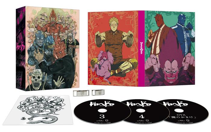 【ドロヘドロ Blu-ray BOX】下巻 初回生産限定版 (C)2020 林田球・小学館/ドロヘドロ製作委員会