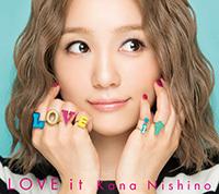 西野カナ『LOVE it』初回生産限定盤
