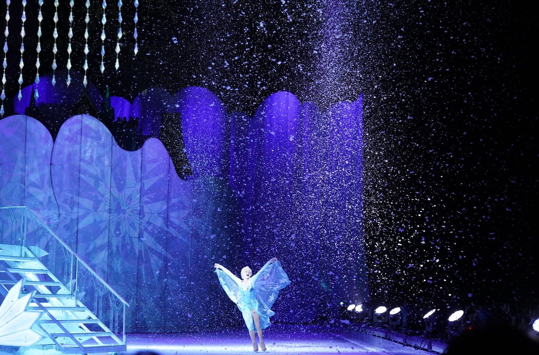 エルサはまさに雪の女王!