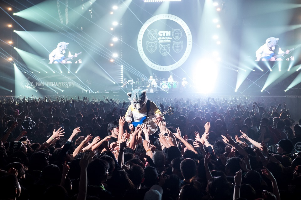 MAN WITH A MISSION 撮影=酒井ダイスケ、石井麻木