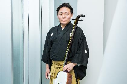 三味線奏者・鶴澤寛太郎が語る『うめだ文楽』の魅力とはーー「芸の継承をしっかり受け継ぎながら精一杯、背伸びして、円熟したものをお見せできるようにしたい」