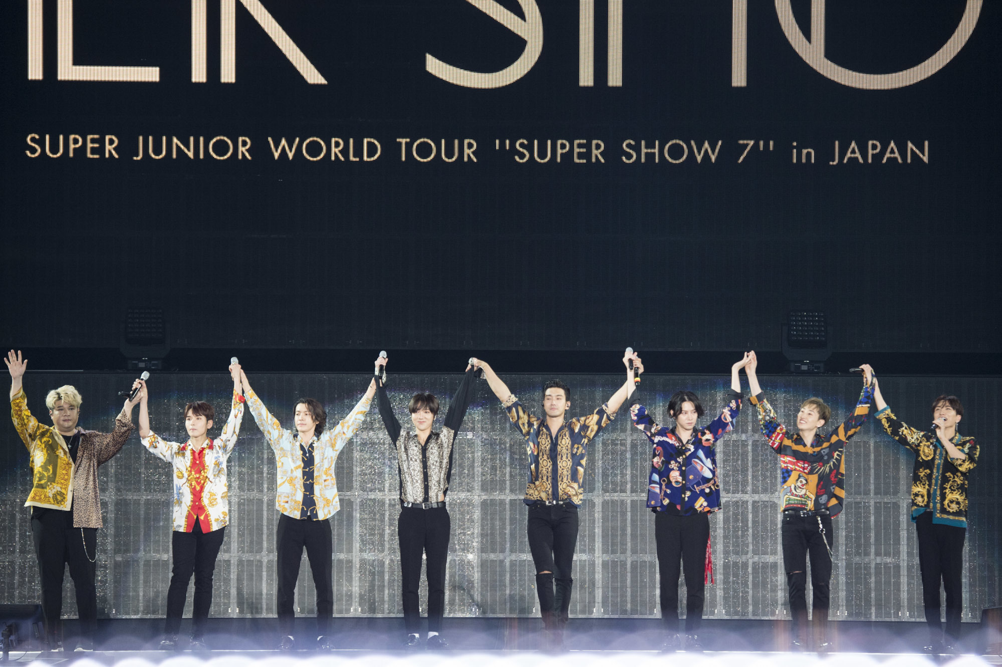"『SUPER JUNIOR WORLD TOUR ""SUPER SHOW 7""』日本公演 写真クレジット:田中聖太郎写真事務所"