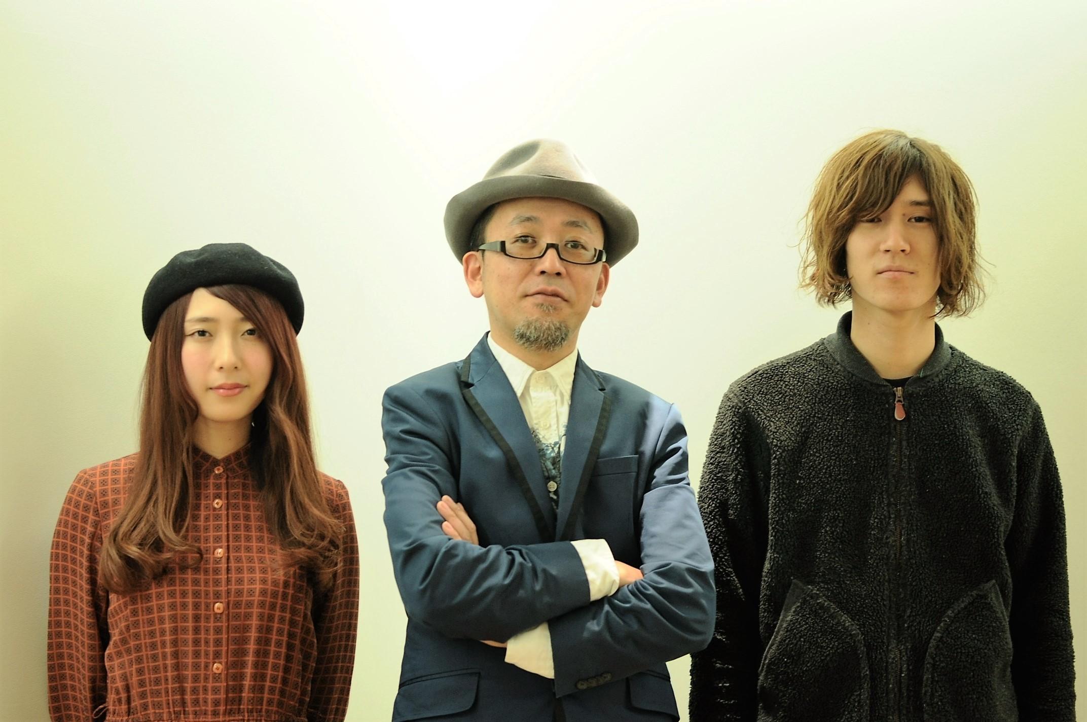 左から GLIM SPANKY松尾レミ、FROGMAN、GLIM SPANKY亀本寛貴  Photo by Taiyo Kazama