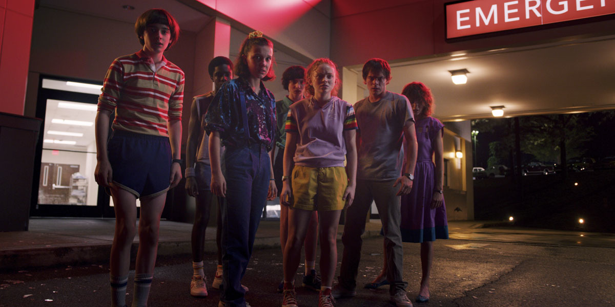 Netflixオリジナルシリーズ「ストレンジャー・シングス 未知の世界3」 7月4日より独占配信開始