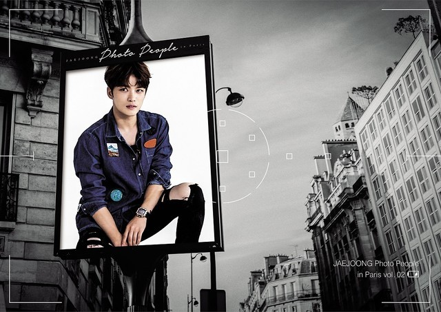 「JAEJOONG Photo People in Paris vol.02」ジャケット