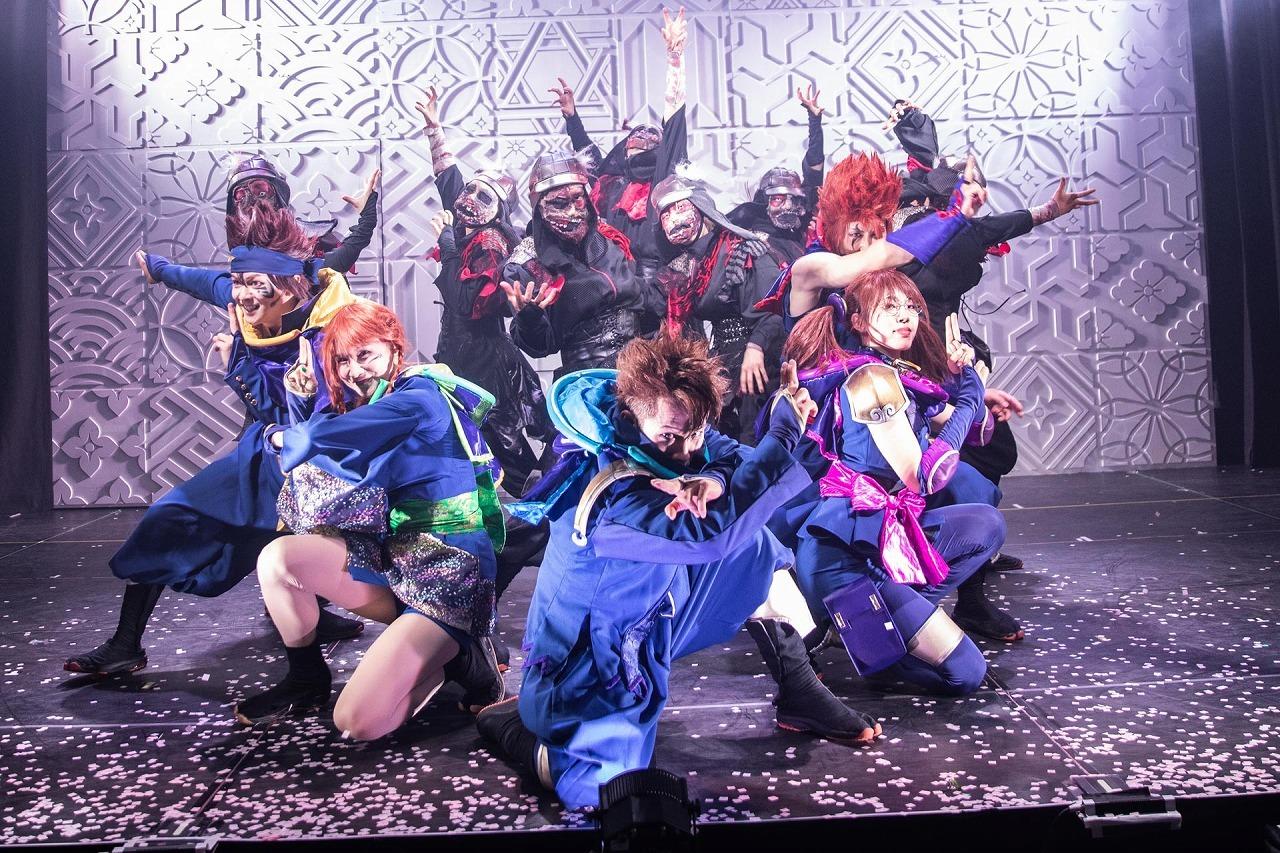 『真Ninja Illusion LIVE The REAL〜正義忍者vsゾンビ忍者〜』舞台写真  (C)真 Ninja Illusion LIVE The REAL  撮影:Shinsuke Yasui