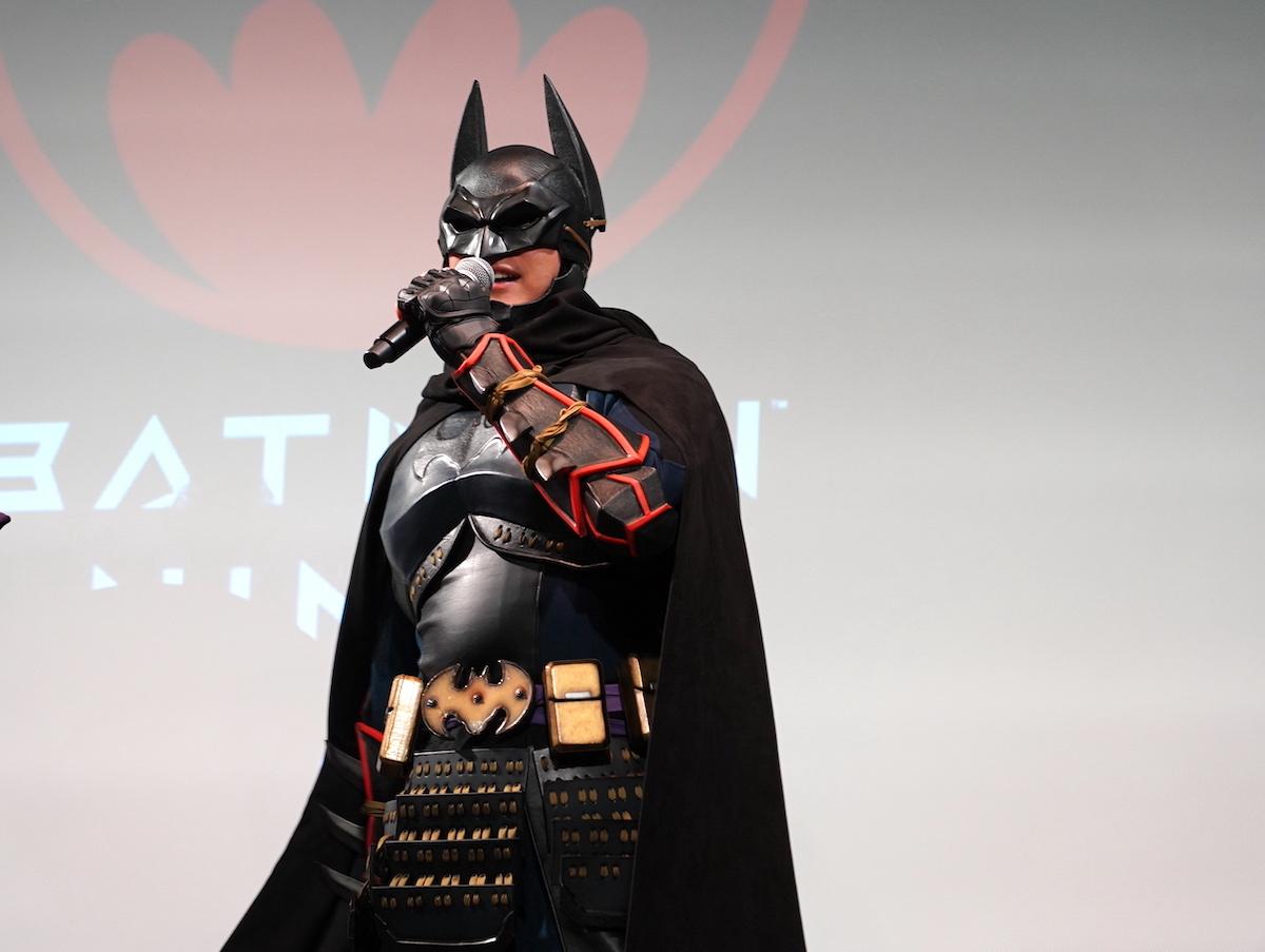 バットマン役の滝川広大 BATMAN and all related characters and elements © & ™ DC Comics and Warner Bros. Entertainment Inc. (s21)