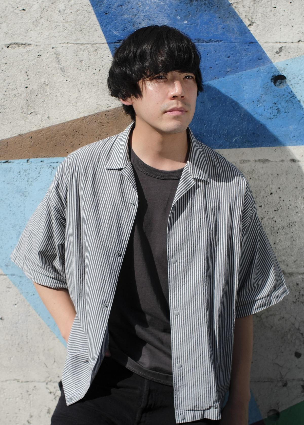The Songbards/柴田 淳史(Ba,Cho) 撮影=横井明彦