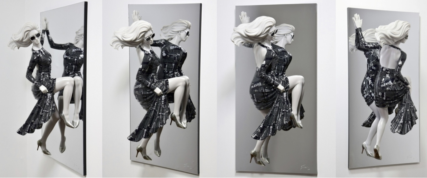 GWAG Chul 《Female Hero》 Mixed Media