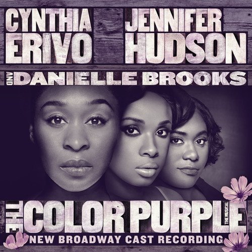 「THE COLOR PURPLE」OSTジャケット