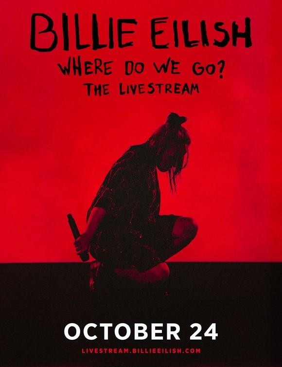 ビリー・アイリッシュ『WHERE DO WE GO? オンラインライブ』
