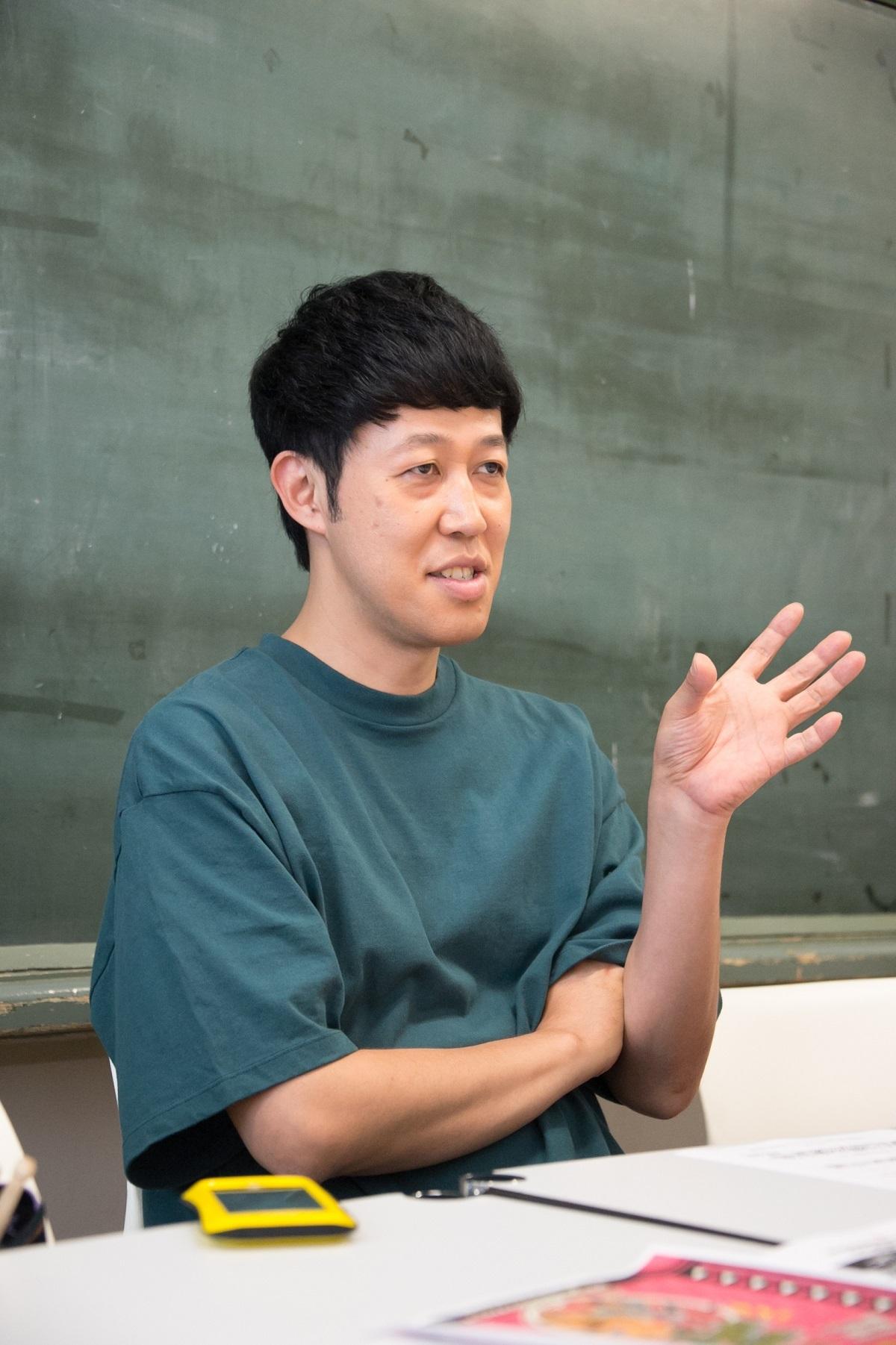 小籔千豊 撮影=鈴木恵