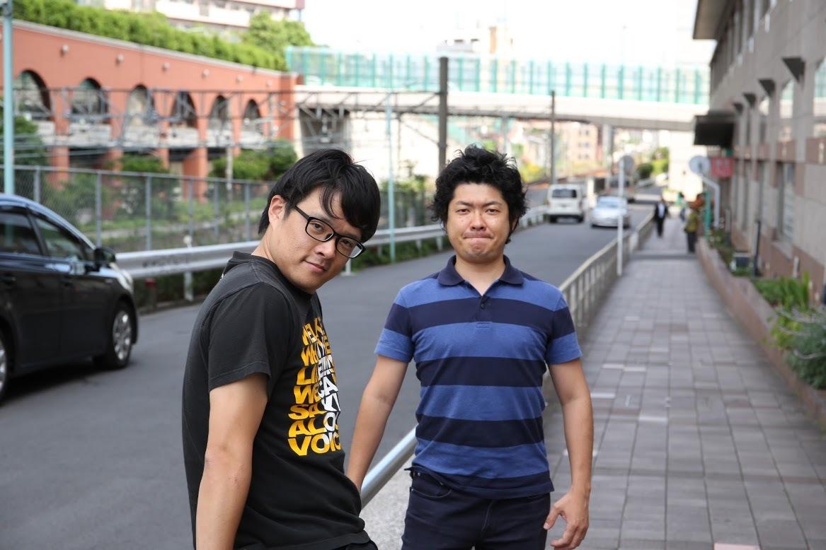 BANBANBAN 左:鮫島ヒロミ 右:山本正剛 撮影:大塚正明