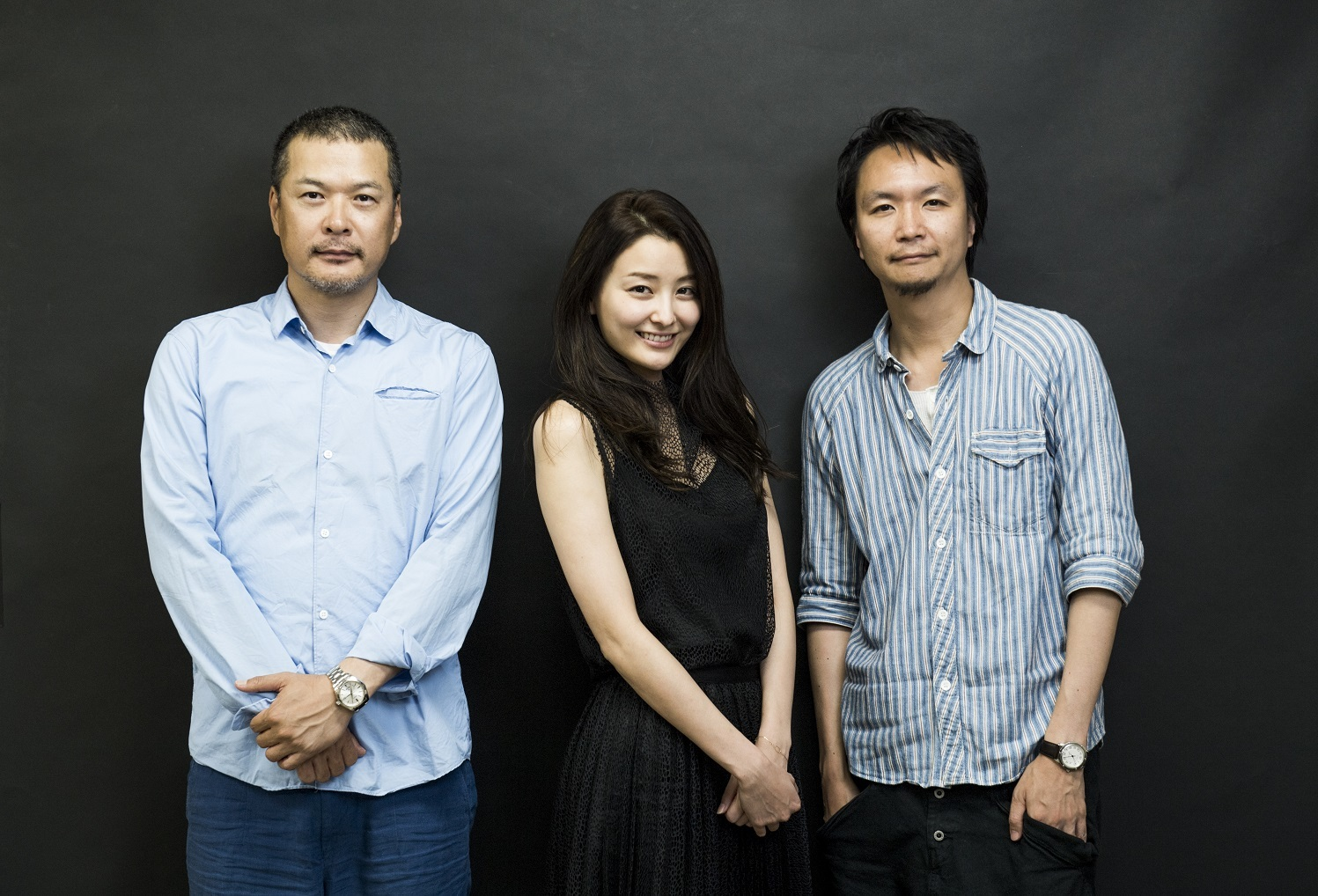 演出家・長塚圭史と夫婦役を演じる田中哲司と原田夏希が緊張感ただよう ...