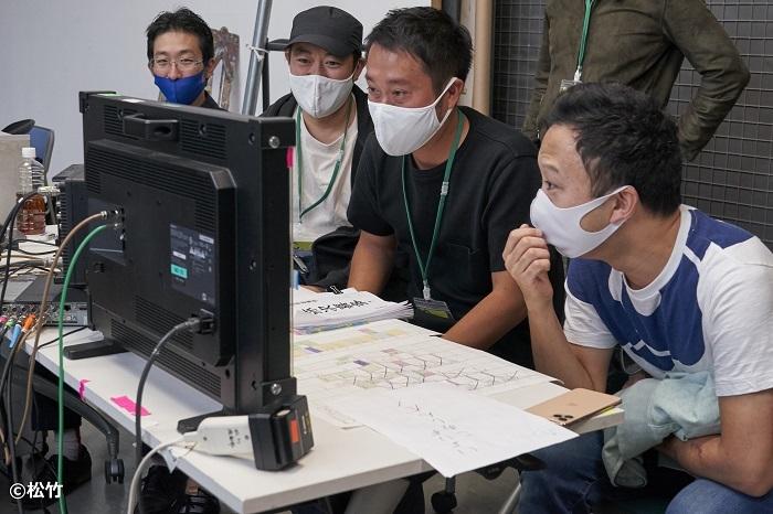 「図夢歌舞伎『弥次喜多』」市川猿之助編集風景